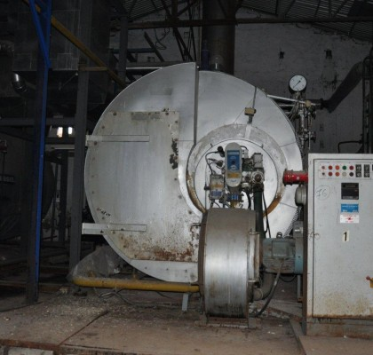 BOILER STEAM / STANDARD KESSEL / 12 TONS