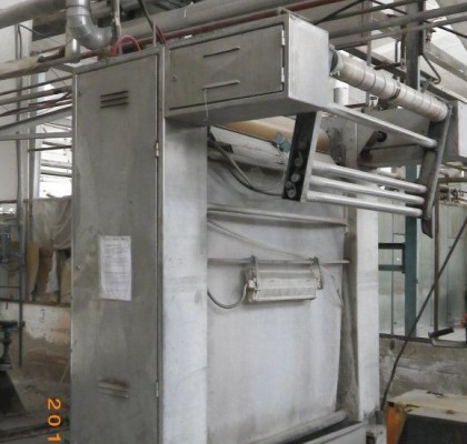 SQUEEZING MACHINE / CALATOR / TUBULAR