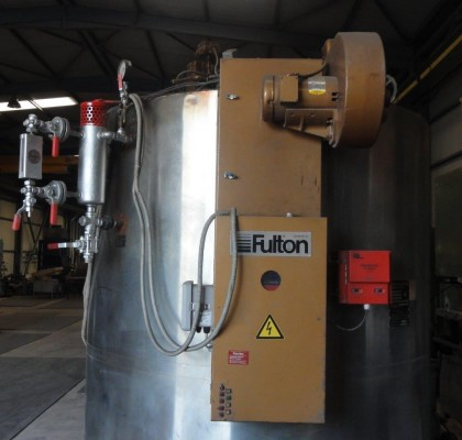 STEAM BOILER / FULTON / 1,6 TONS / 1990