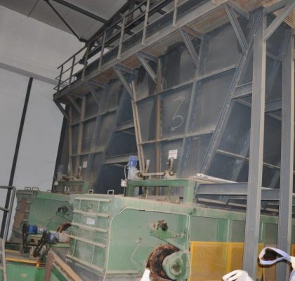 Machinery of brick plant with production capacity 650 Tons/day – Order Code: 940